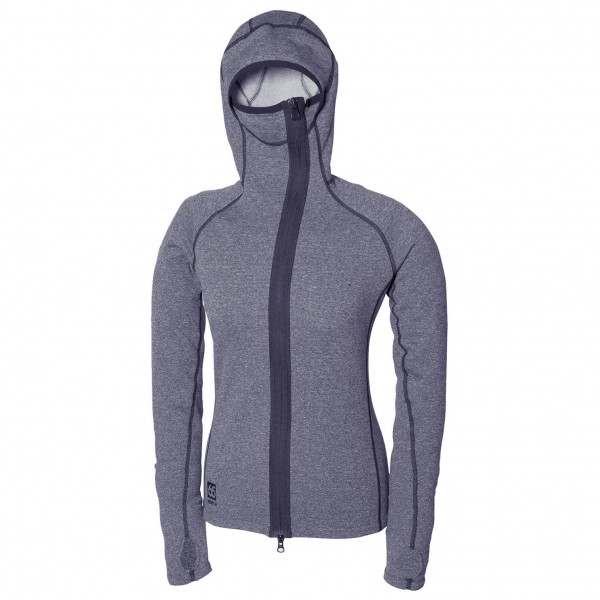 66 North - Women's Vik Heather Hooded - Fleecejacke