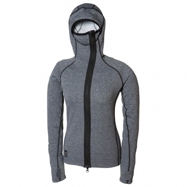66 North - Women's Vik Heather Hooded - Fleece jacket