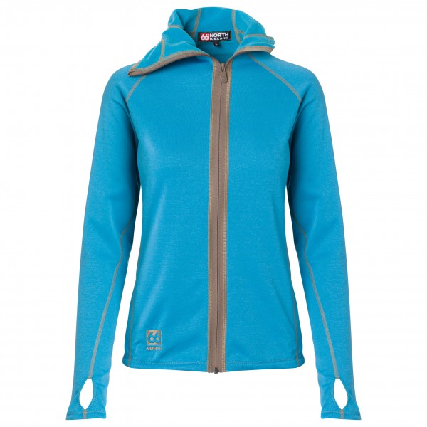 66 North - Women's Vik Hooded Jacket - Fleecetakki