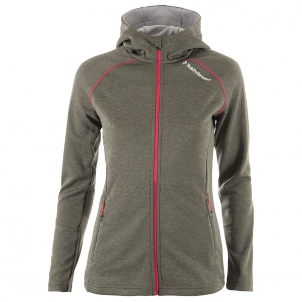 Peak Performance - Women's Aim Zip Hood - Fleecejack