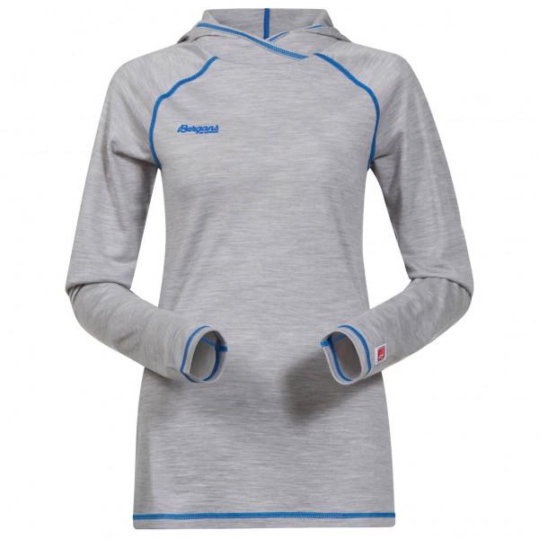Bergans - Women's Cecilie Wool Shirt W/Hood - Merinopullover