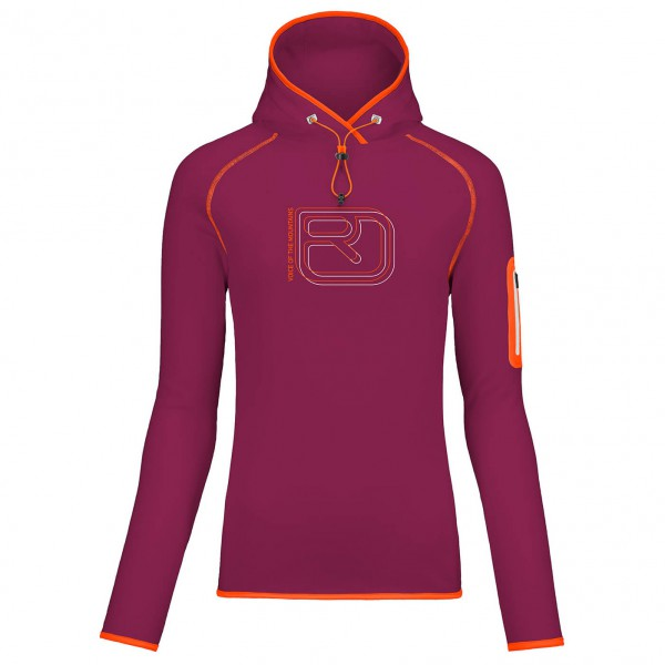 Ortovox - Women's Fleece (Mi) Logo Hoody - Pull-over polaire