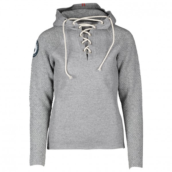 Amundsen - Women's Boiled Hoodie Laced - Merino sweater
