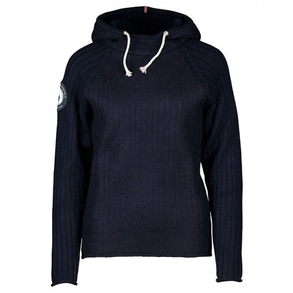 Amundsen - Women's Boiled Hoodie Ribbed - Merino jumpers