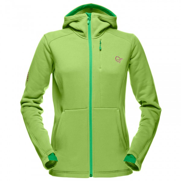 Norrøna - Women's Narvik Warm2 Stretch Zip Hood - Fleecejacka