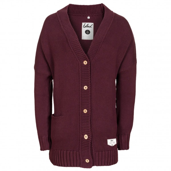 bleed - Women's Woody Cardigan - Wool jacket