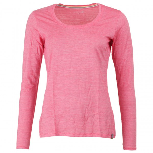 Smartwool - Women's Long Sleeve Solid Tee - Merino trui