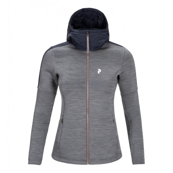 Peak Performance - Women's Thy Mid Hood - Fleecejack