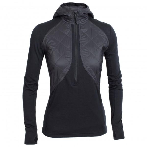 Icebreaker - Women's Ellipse L/S Half Zip Hood - Wool jacket