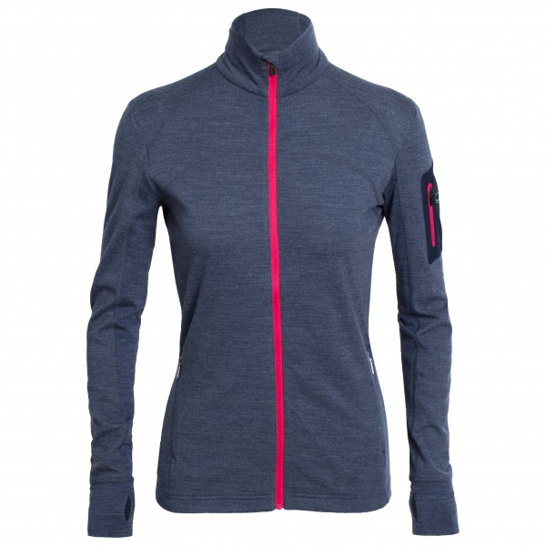 Icebreaker - Women's Terra L/S Zip - Wool jacket