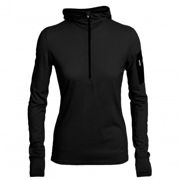 Icebreaker - Women's Terra LS Half Zip Hood - Merino sweater