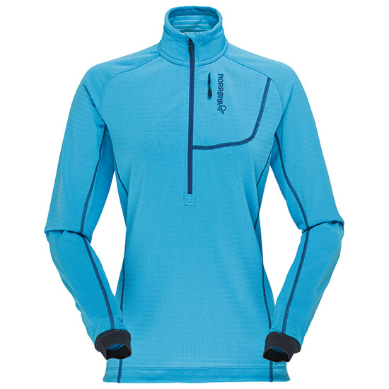 Norrøna - Women's Bitihorn Powerdry Shirt - Fleecetrui