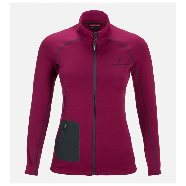 Peak Performance - Women's Blacklight Mid Zip - Fleece jacke