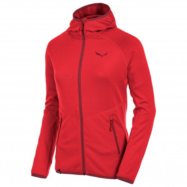 Salewa - Women's Puez Grid Polarlite FZ Hoody - Fleece jacke