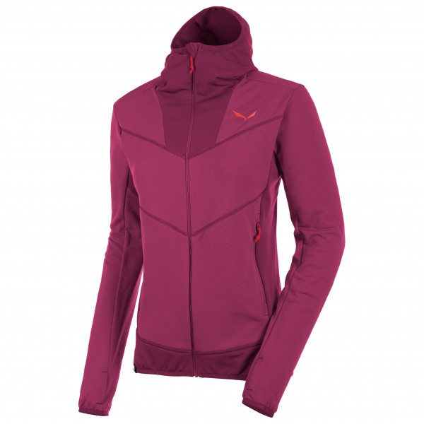 Salewa - Women's Puez Polarlite Full-Zip Hoody - Fleecejacke