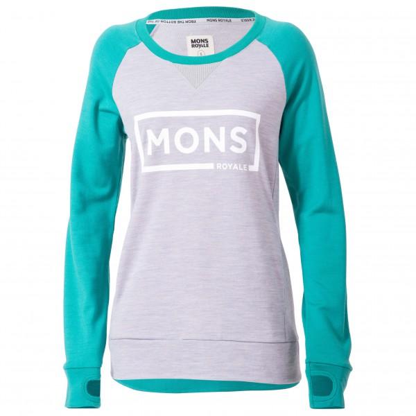 Mons Royale - Women's Tech Sweat - Pull-over en laine mérino