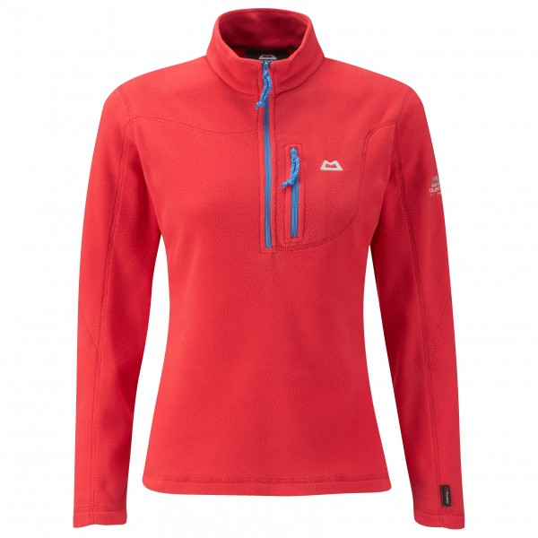 Mountain Equipment - Women's Micro Zip Tee Auslaufmodell