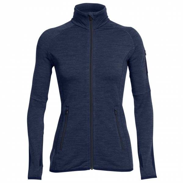 Icebreaker - Women's Atom L/S Zip - Wool jacket