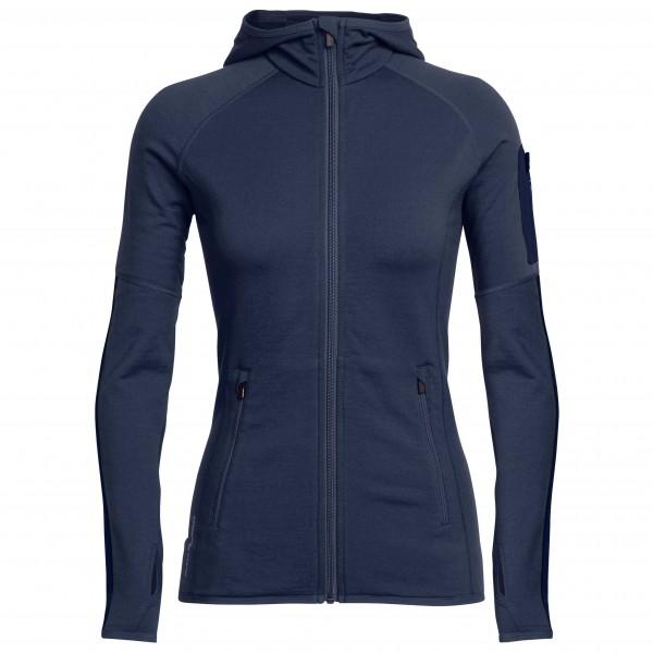 Icebreaker - Women's Atom L/S Zip Hood - Wool jacket