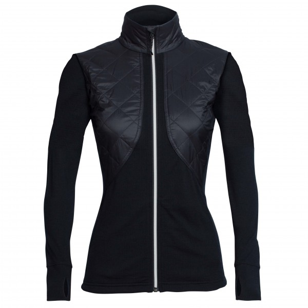 Icebreaker - Women's Ellipse L/S Zip - Wolljacke