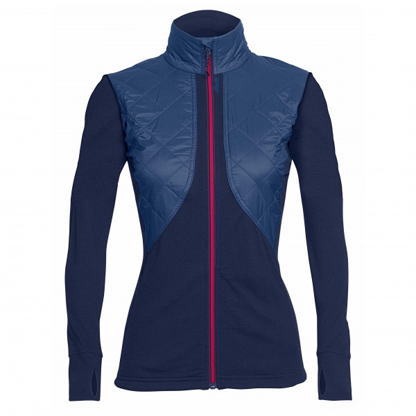 Icebreaker - Women's Ellipse L/S Zip - Wollen jack