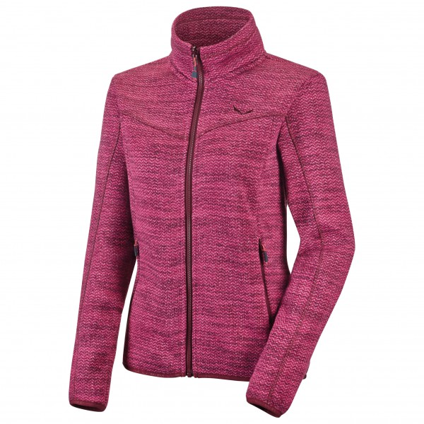 Salewa - Women's Fanes Herringbone PL Full-Zip - Fleecejacke