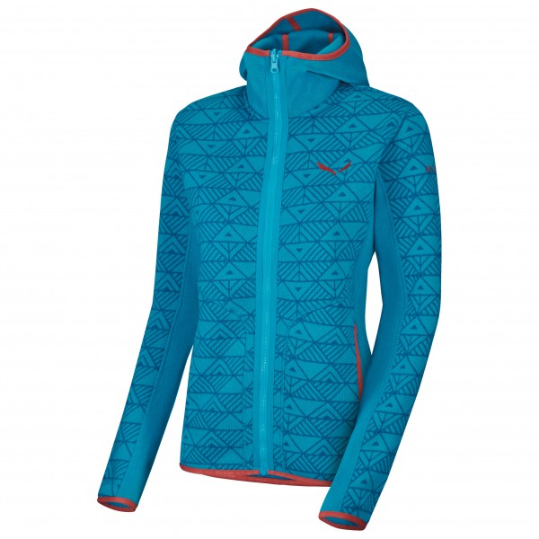 Salewa - Women's Puez Printed PL Full-Zip Hoody