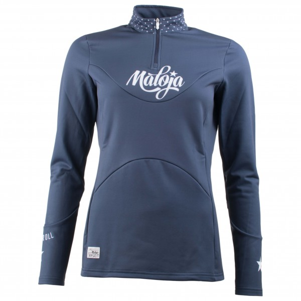 Maloja - Women's CorvallisM.Shirt - Fleece pullover