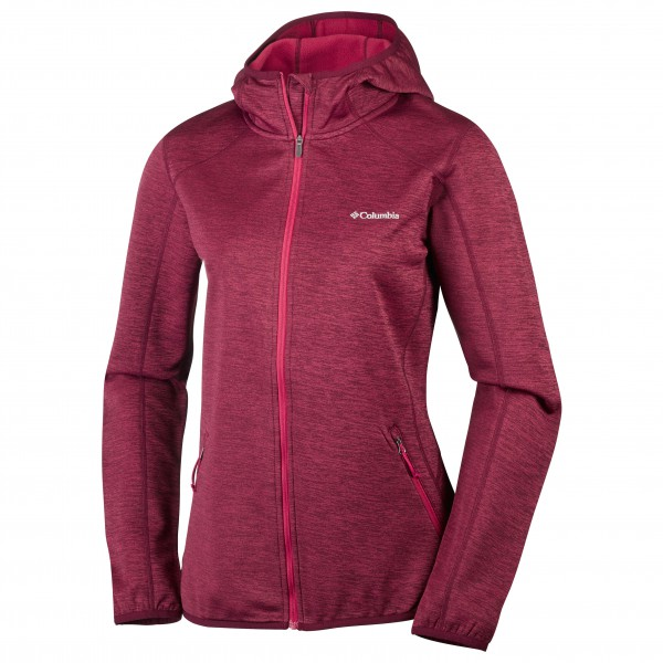 Columbia - Women's Sapphire Trail Hooded FZ - Fleece jacket