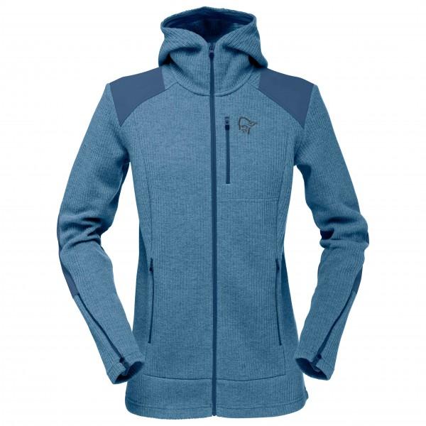 Norrøna - Women's Tamok Warm/Wool2 Zip Hood - Veste en laine