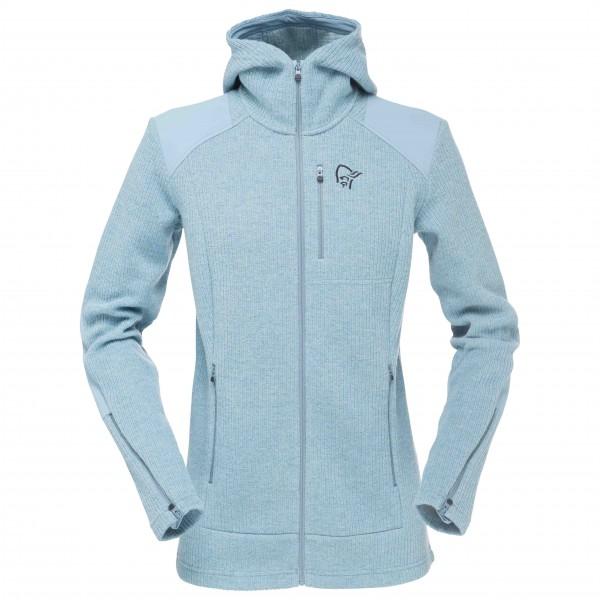 Norrøna - Women's Tamok Warm/Wool2 Zip Hood - Wool jacket