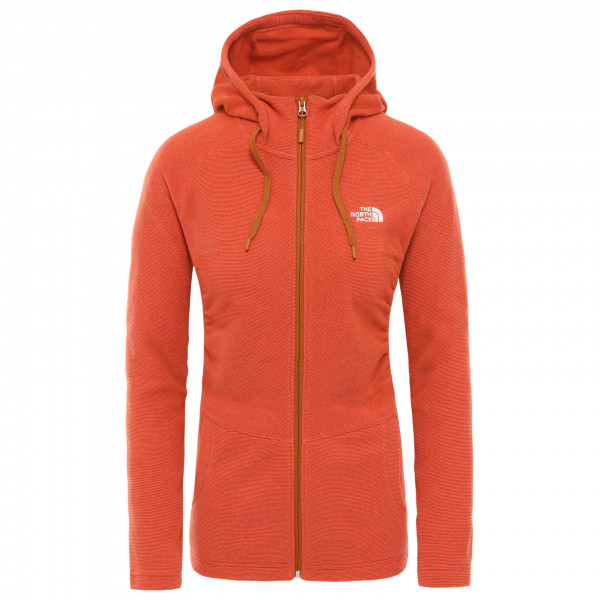 The North Face - Women's Mezzaluna Full Zip Hoodie - Fleecevest