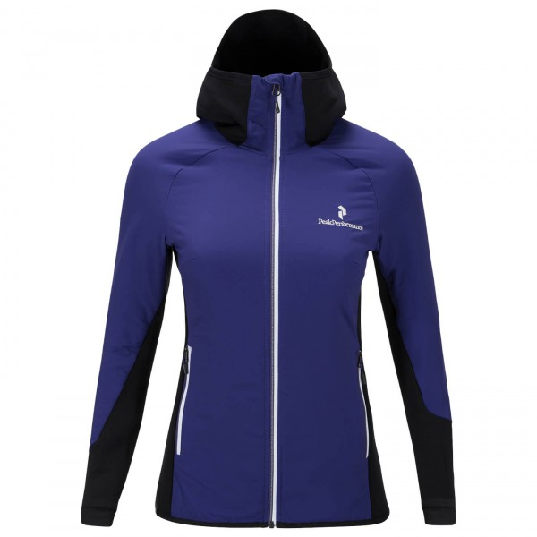 Peak Performance - Women's Black Light Hybrid Mid Jacket