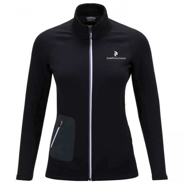 Peak Performance - Women's Black Light Mid Zip Jacket