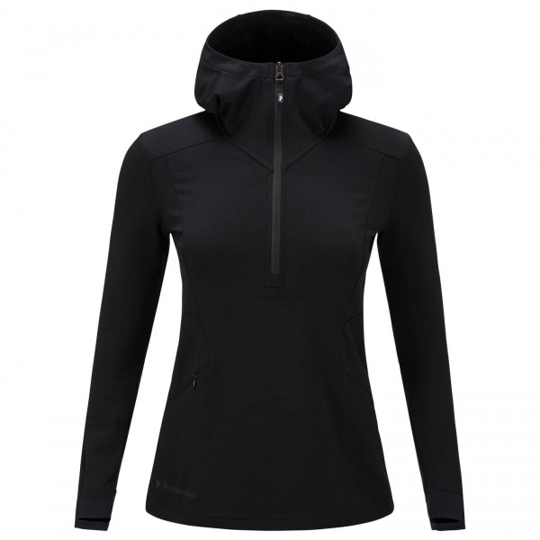 Peak Performance - Women's Civil Mid Hood - Fleecepulloveri