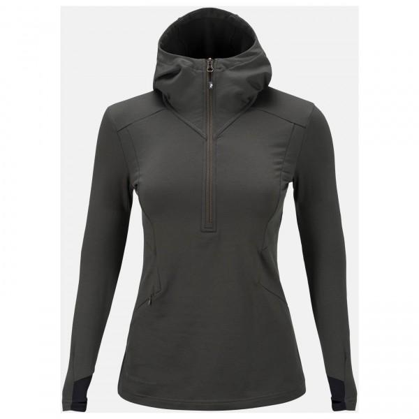 Peak Performance - Women's Civil Mid Hood - Fleece jumpers