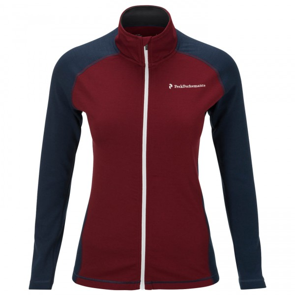 Peak Performance - Women's Thermo Mid Zip - Veste en laine