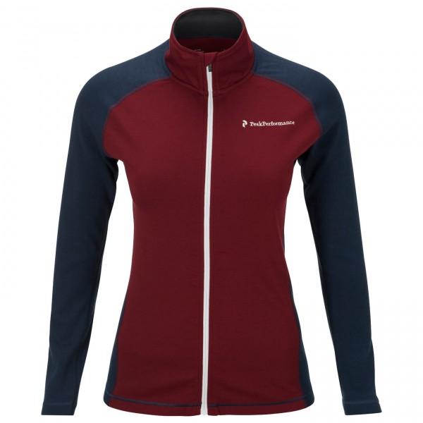 Peak Performance - Women's Thermo Mid Zip - Wool jacket