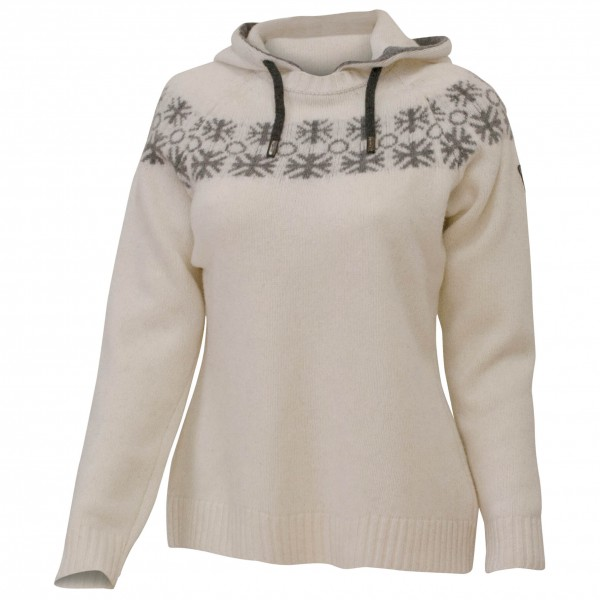 Ivanhoe of Sweden - Women's Moa Hood - Pull-over en laine mé