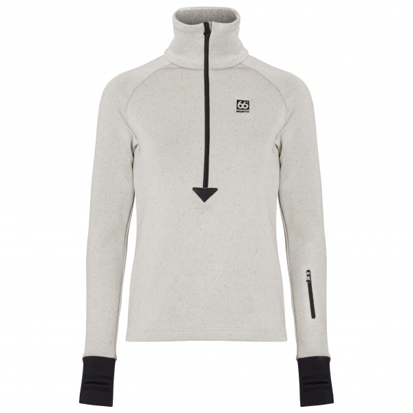 66 North - Atlavík Women's Zip Neck - Fleecetrui