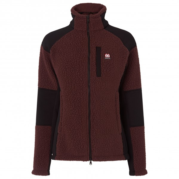 66 North - Tindur Technical Women's Shearling Jacket - Fleecetakki