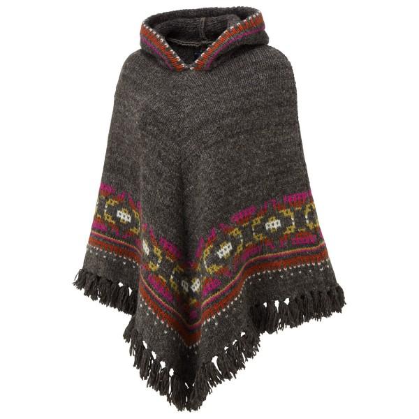 Sherpa - Women's Samchi Poncho - Wool jacket