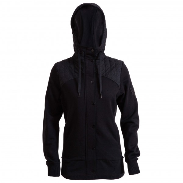 Mons Royale - Womens Hero Hoody - Wollen jack