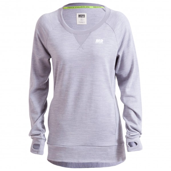 Mons Royale - Womens Sub-Rosa Tech Sweat - Merinovillapullov