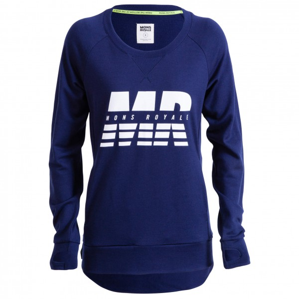 Mons Royale - Womens Sub-Rosa Tech Sweat - Merino sweater