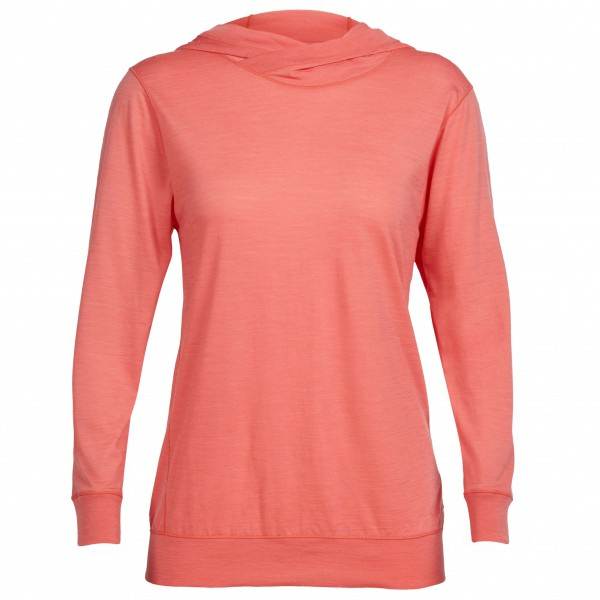 Icebreaker - Women's Mira L/S Hood - Merino sweatere