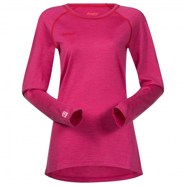 Bergans - Women's Cecilie Wool Long Sleeve - Merinovillapulloverit