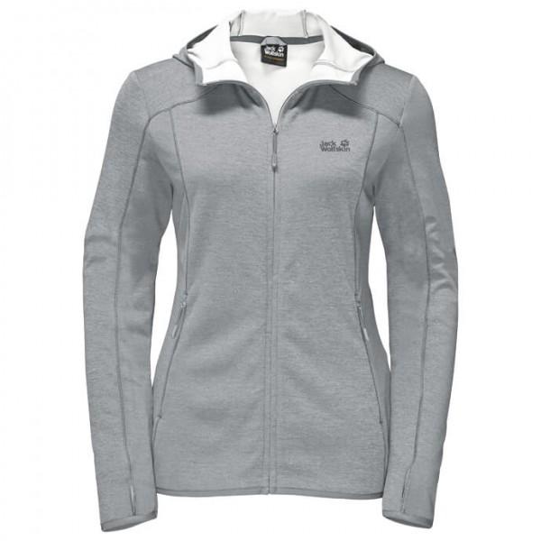 Jack Wolfskin - Drynetic Hooded Jacket Women - Fleece jacket