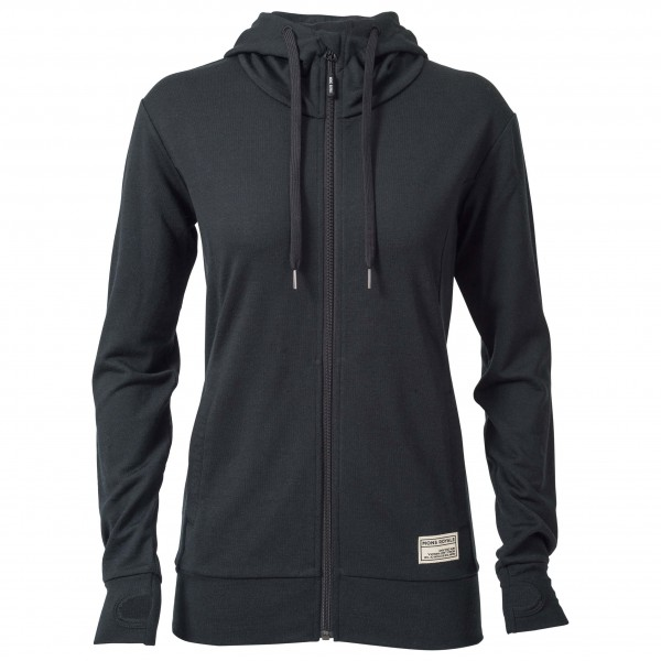 Mons Royale - Women's Mid Hit Hoody Ftbotw - Wool jacket