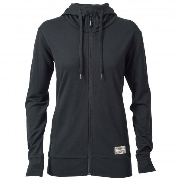 Mons Royale - Women's Mid Hit Hoody Ftbotw - Wool jacket